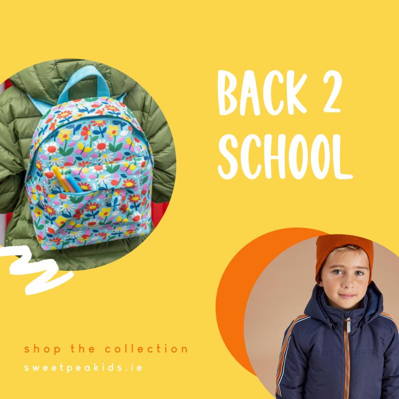 BACK TO SCHOOL 2021 Sweet Pea Kids Boutique