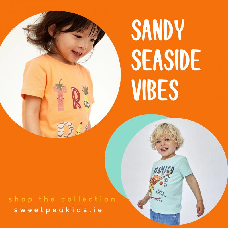 sandy seaside vibes